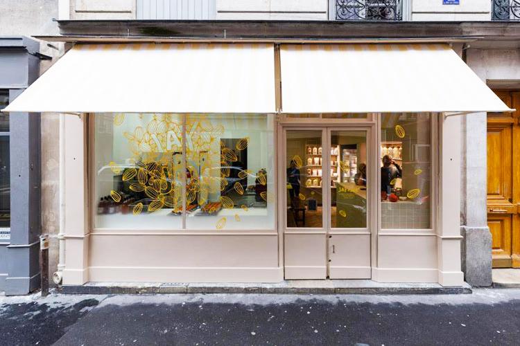 La devanture de la La crèmerie Jay & Joy - vegan à Paris ! ©Jay & Joy