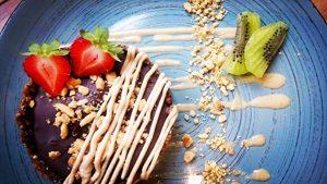 Dessert sans gluten et vegan ©L'Eden Sans Gluten à Strasbourg