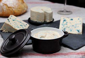 Bleu d'Auvergne, fromage vegan de @La Petite Frawmagerie