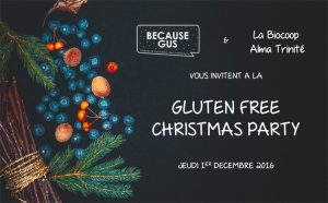 Gluten Free Christmas Party avec l'Atelier Sarrasin ! ©Because Gus