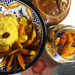 Où manger un couscous sans gluten à Paris ? - A table avec Mamie Couscous ! ©Because Gus