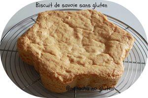 Le biscuit de Savoie ©Natacha de Ma Cuisine Sans Gluten