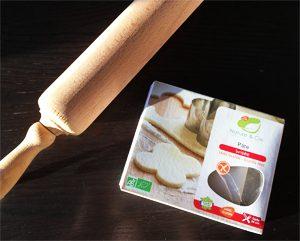 La pâte sans gluten Nature & Cie pour réussir sa quiche lorraine sans gluten ni lactose ©Because Gus