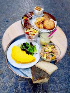 Les gluten free se pressent chez Sitron ! Ze brunch ! ©Sitron