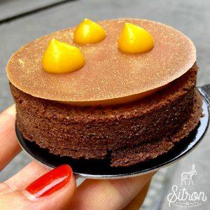 Miam une pâtisserie sans gluten de chez Sitron !! ©Sitron
