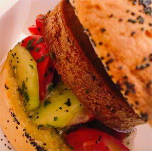 Le burger quinoa sans gluten à Strasbourg de La Pause Quinoa ©_yoong90