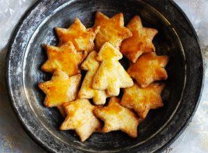 Les bredele, une des recettes de desserts sans gluten faciles à faire ©Because Gus