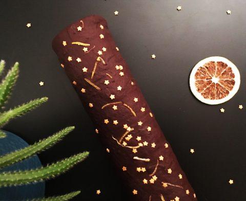 La recette de la bûche de Noël sans gluten ©Because Gus
