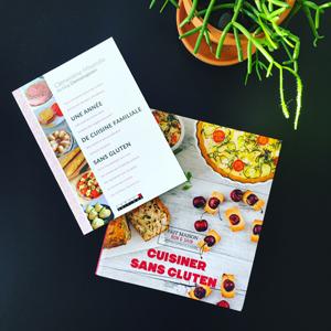 Les livres de Clemsansgluten pour un cadeau de Noël sans gluten ©Because Gus