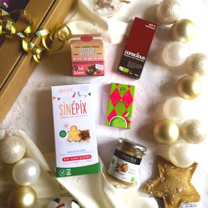 Cinq idées pour un cadeau de Noël sans gluten ! Le coffret de Noël ©GlutenCorner !