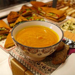 Soupe & sandwich by @L'Eden Libre de Gluten