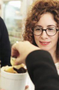 Chiara chez Noglu pendant un food tour sans gluten à Paris ©Chiara Russo