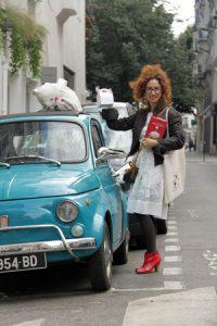 En voiture Simone ! On part faire un food tour sans gluten à Paris ©Chiara Russo