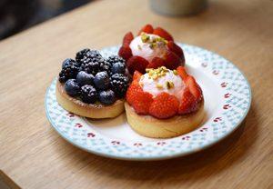 Food tour sans gluten à Paris avec Chiara Le tartes de Noglu ! ©Chiara Russo