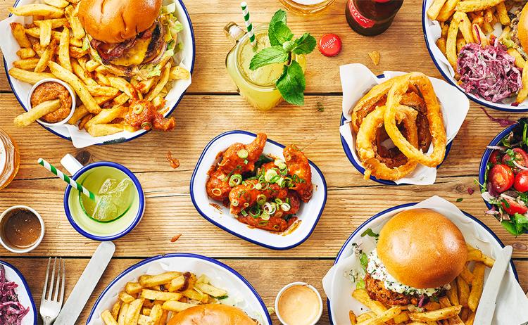 Honest Burgers Londres - gluten free