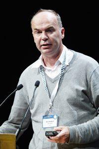Michel Neulist nous parle de l'axe intestin-cerveau ©Olmix