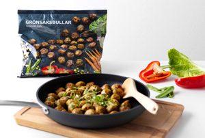 Les boulettes végétariennes et sans gluten chez Ikea