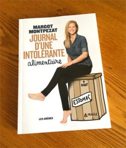 Lecture gluten free avec le journal de Margot ©Because Gus