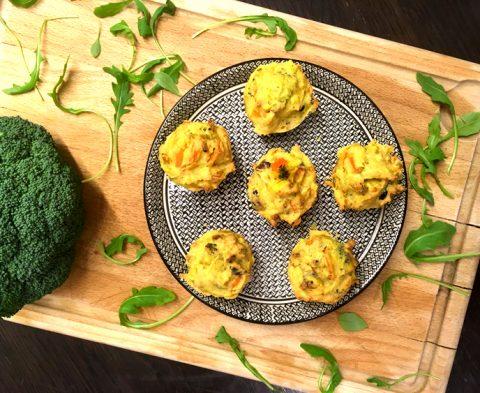 Chouette, la recette des muffins salés et sans gluten ! ©Because Gus