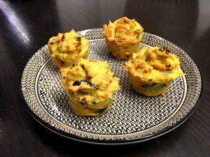 Les muffins salés et sans gluten ! ©Because Gus