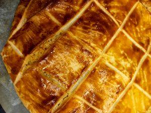 Yummy !! Et voilà le résultat de la recette de galette des rois sans gluten ©Because Gus