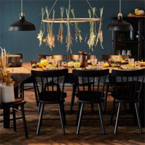 A table on mange sans gluten chez Ikea