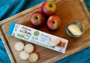 Les ingrédients du crumble sans gluten avec Les Recettes de Céliane ©Because Gus