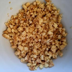La pâte sablée pour le crumble sans gluten avec Les Recettes de Céliane ©Because Gus
