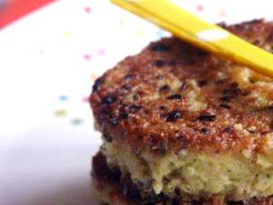 La recette des galettes de millet sans gluten et végétarienne ©Ptit Chef