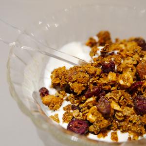 Le granola sans gluten au cacao cru de ©Foucade