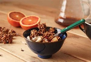 Crunchy granola sans gluten de ©Thank You My Deer