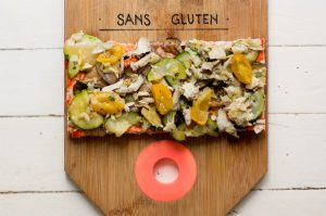 Hank Pizza sans gluten et vegan ! ©Hank Pizza
