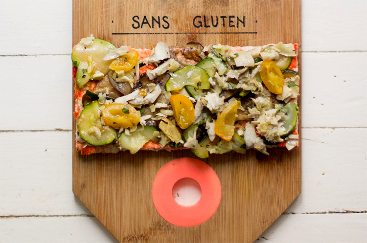 Hank Pizza sans gluten et vegan ! ©Hank Pizza