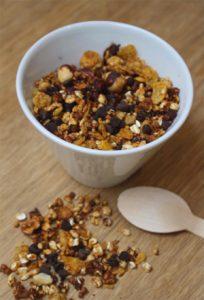 Granola sans gluten au chocolat ©Noglu