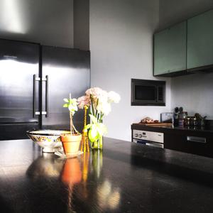La cuisine où auront lieu les ateliers de cuisine sans gluten !! ©Because Gus