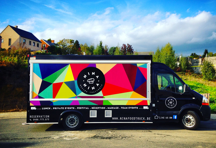 Nina Food Truck - Trattoria sans gluten à Bruxelles