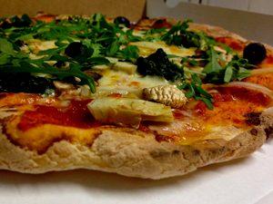 Pizza sans gluten à Barcelone ©Il Piccolo Focone
