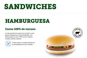 Le burger sans gluten à Barcelone ©McDonald's