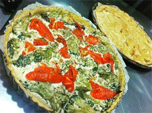 Tarte sans gluten et vegan ©La Révolution Verte l'une de nos adresses où manger sans gluten à Perpignan