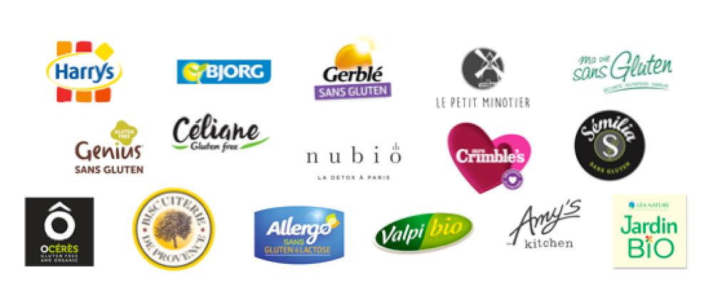 Votez pour le Prix du Produit Sans Gluten ! Les marques partenaires