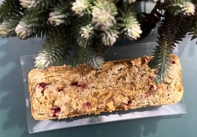 Le cake sans gluten aux graines de chia de Carole ! ©Because Gus