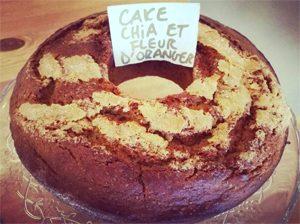 Le fameux cake ! ©My Free Kitchen Au revoir My Free Kitchen, l'adresse sans gluten à Paris…