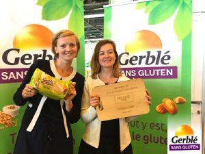 La team ©Gerblé Sans Gluten remporte le Prix du Produit Sans Gluten 2017 !