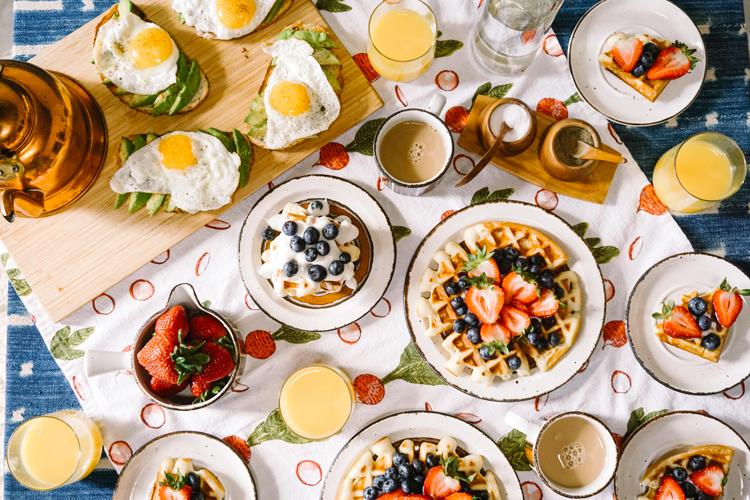Petit-déjeuner sans gluten, on mange quoi ? ©Rachel Park