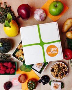Un bento et hop dans le train ! ©Hopeat - Nos conseils pour manger sans gluten dans le train !