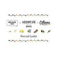 Qui vient pour l'atelier et apéro sans gluten mercredi 5 juillet !!? ©Welcome Bio