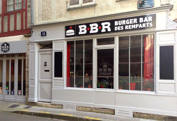 BBR Burger Bar des Remparts - sans gluten à Bayonne