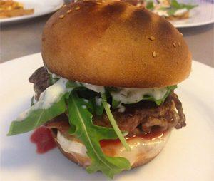Burger sans gluten sur la Côte Basque chez ©BBR Burger Bar des Remparts !