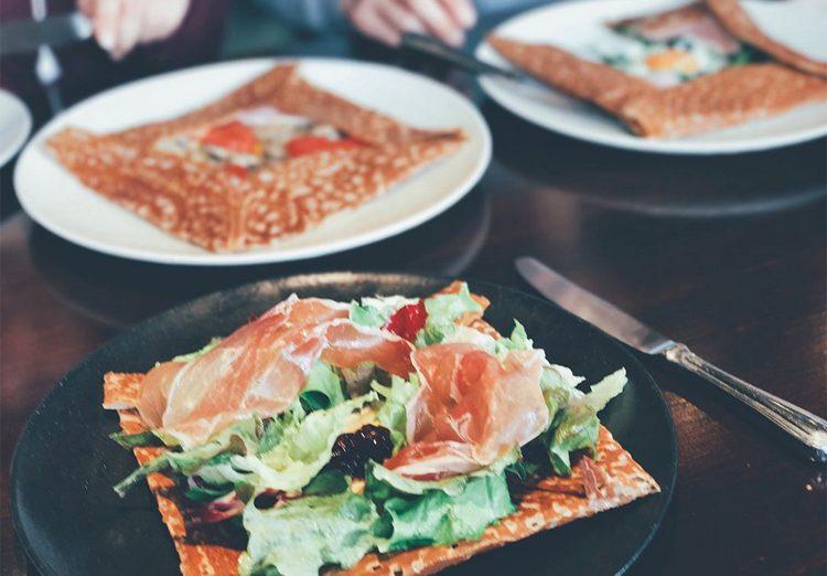 Breizh Café à Tokyo - galettes sans gluten