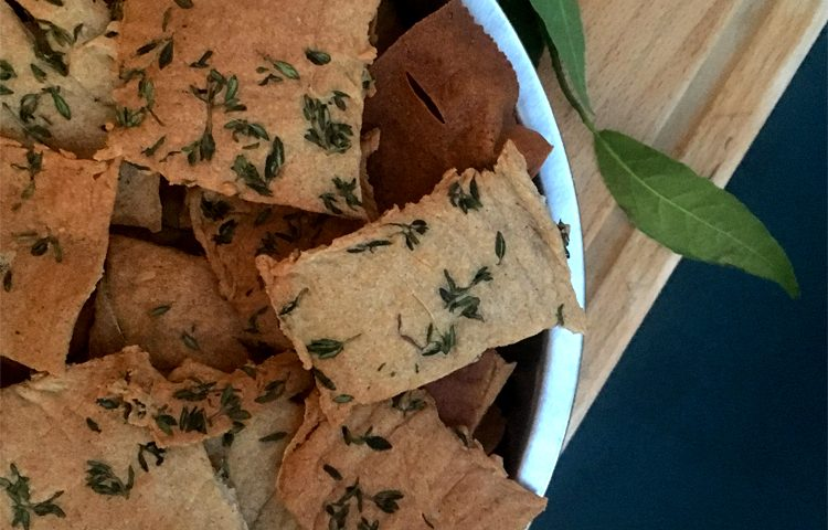Crackers sans gluten au sarrasin ! ©Because Gus